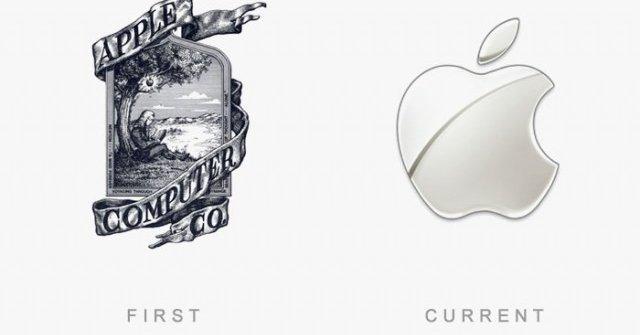 logo设计的趋势是什么——40个全球知名logo今昔对比