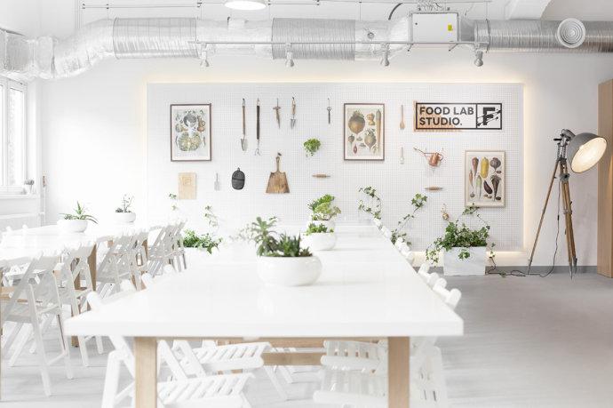 Food Lab Studio餐饮空间设计品牌形象设计